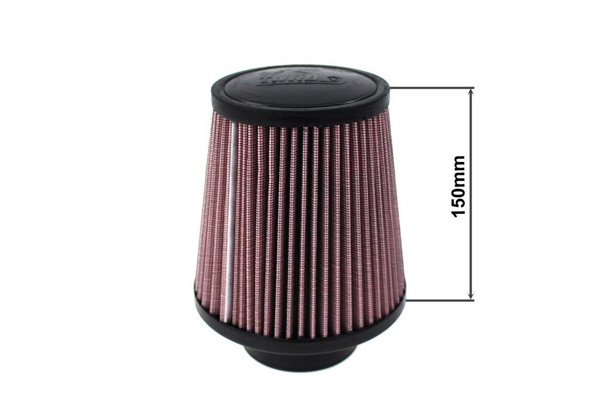 Filtr stożkowy TURBOWORKS H:150mm OTW:101mm Purple - GRUBYGARAGE - Sklep Tuningowy